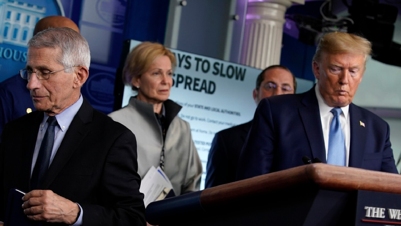 White House announces new COVID-19 guidelines
