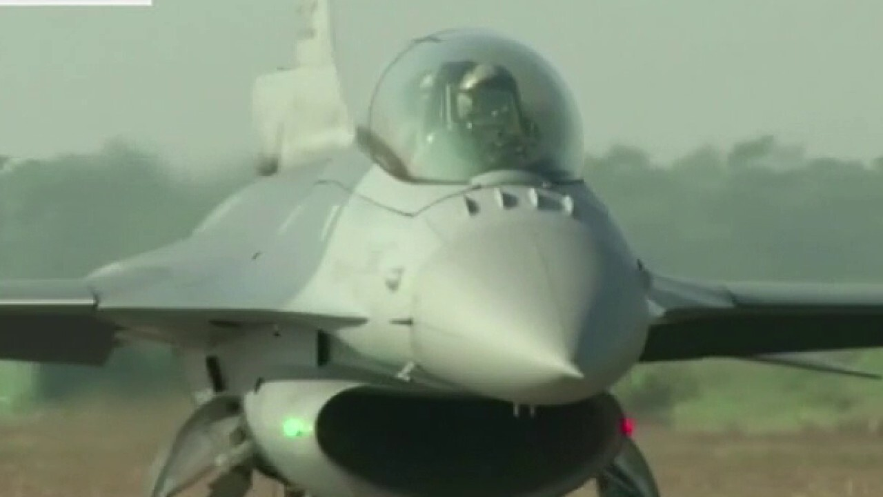 Taiwan unveils US-backed fighter jet hub as tensions with China build