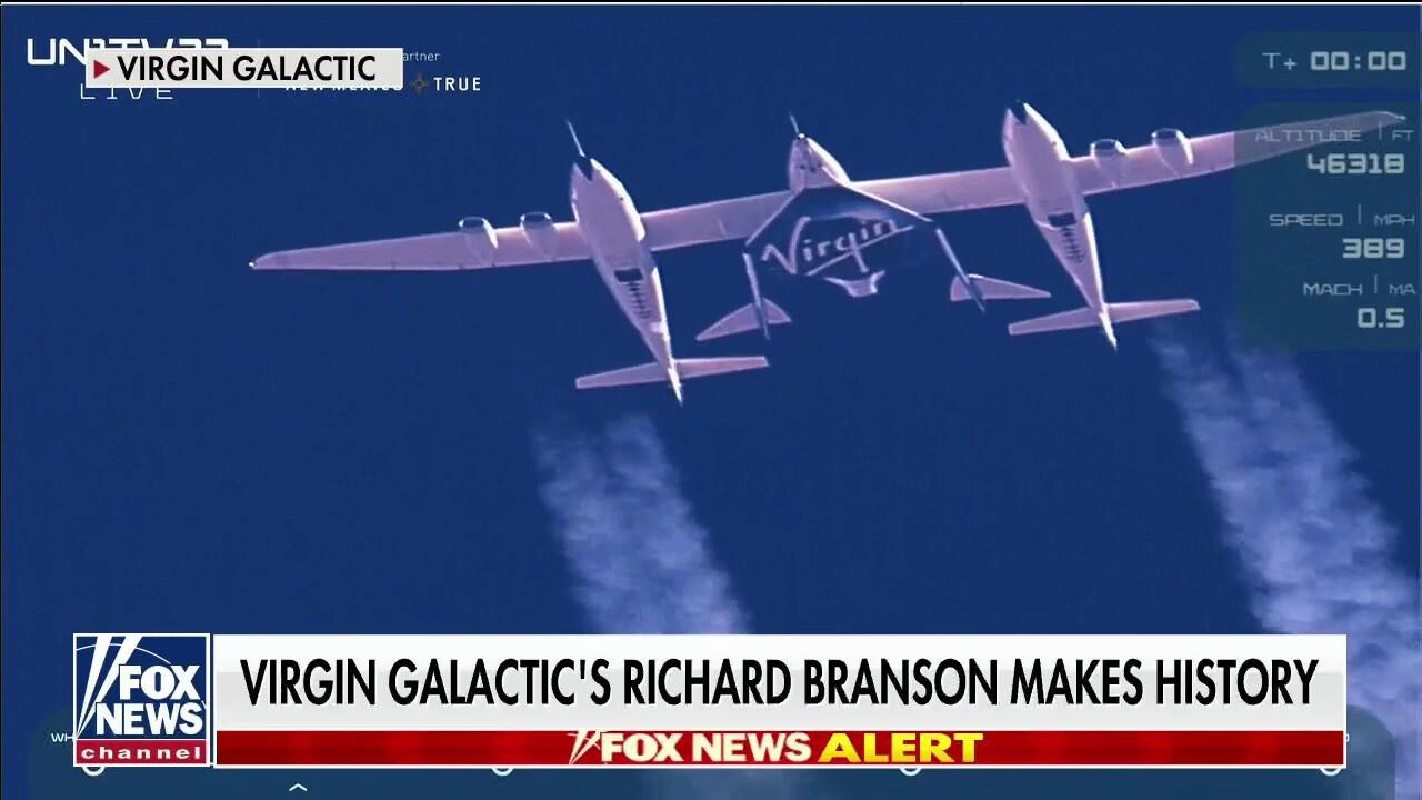 Astronaut Tom Jones calls Virgin Galactic's historic spaceflight 'opening of the door to space tourism'