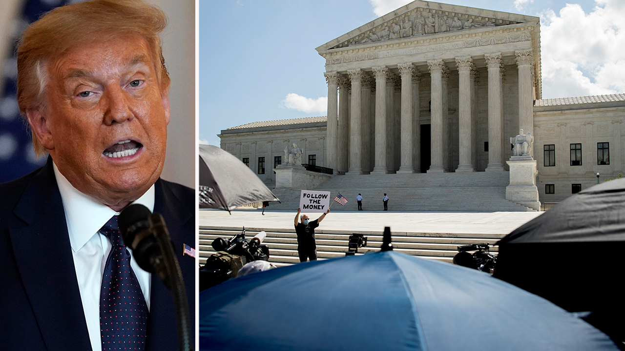 Trump says SCOTUS denying immunity in financial records case is 'political prosecution'