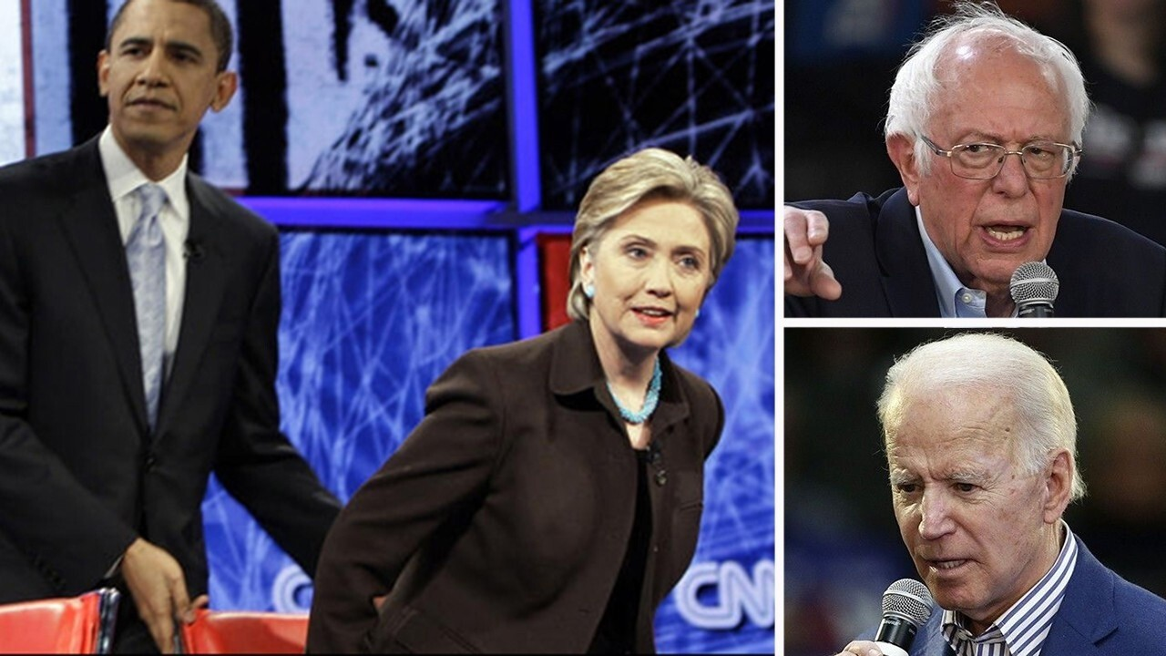 What Biden, Sanders can learn from close 2008 Obama-Clinton primary race
