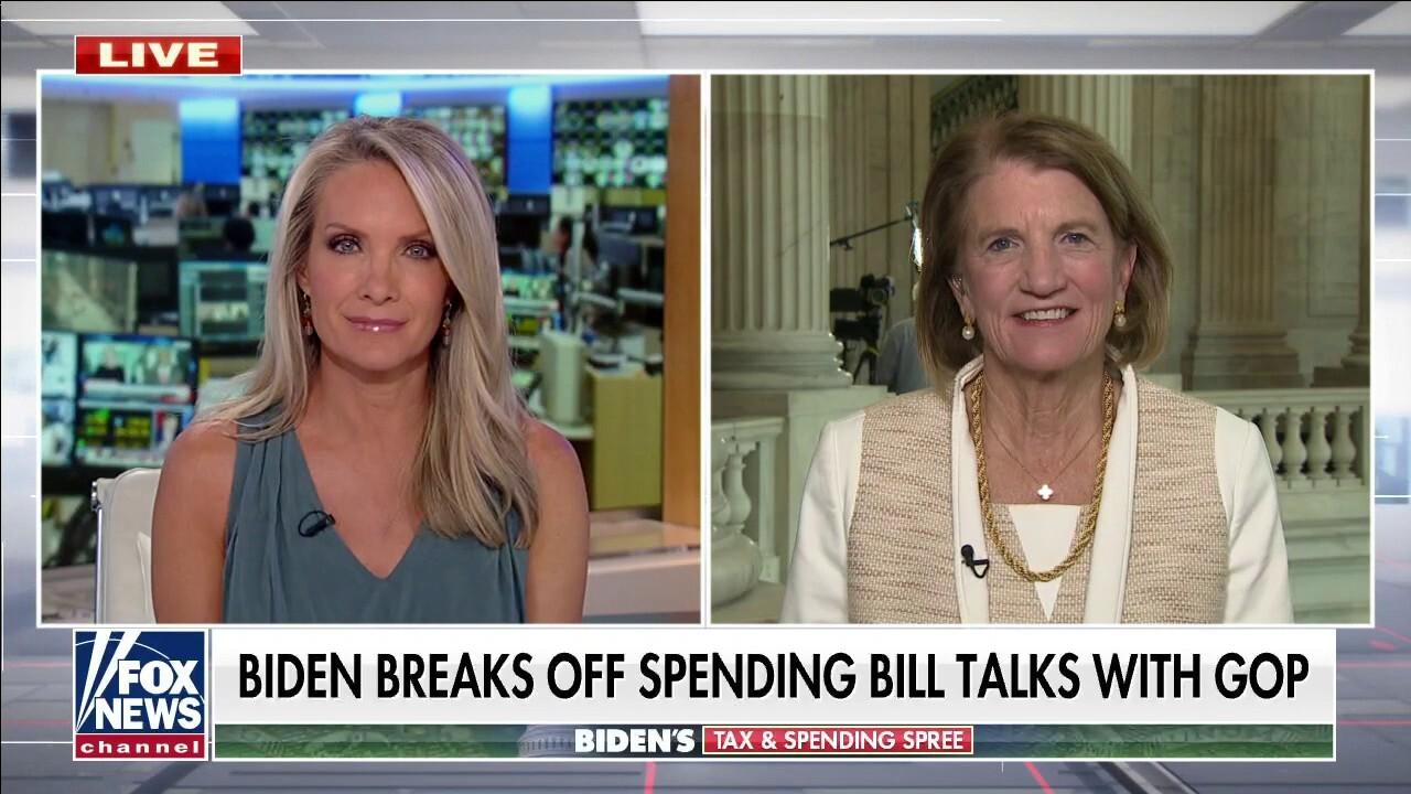 Sen. Moore Capito on Biden breaking off talks with GOP on spending bill