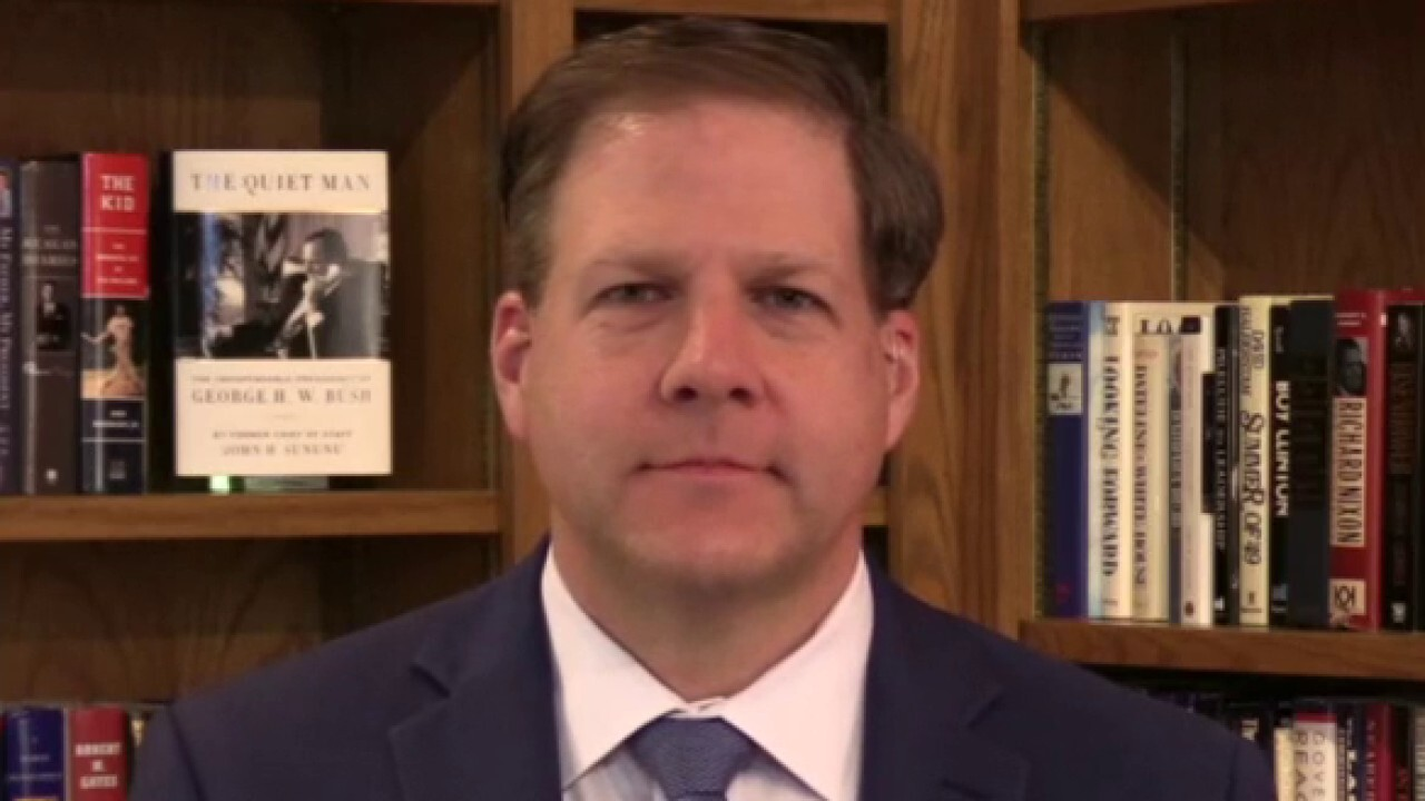 New Hampshire Gov. Chris Sununu outlines plan to reopen