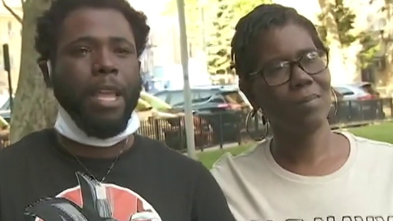 Lawrence Jones speaks to family of 1-year-old killed in New York City