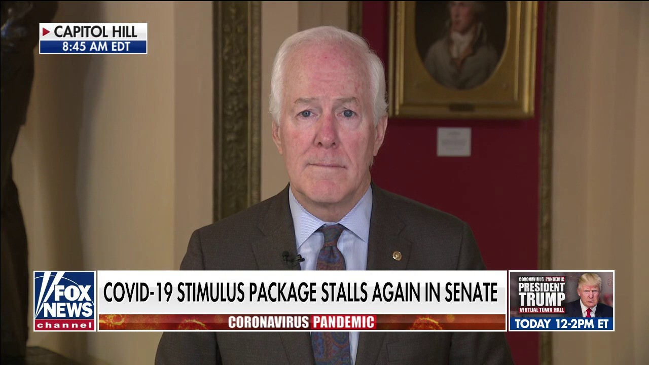 TX Sen. John Cornyn: Americans don't have time to wait on Democrats' political games