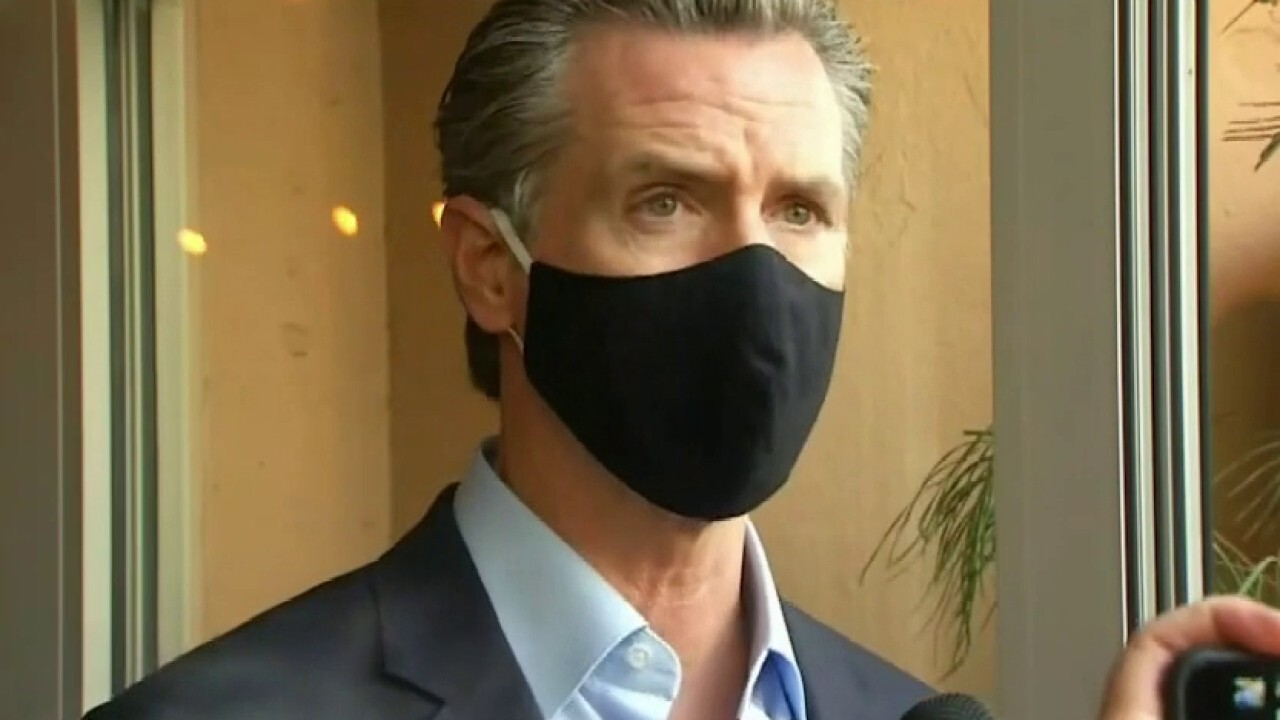 Newsom's recall fundraising email asks constituents: Give me a chance