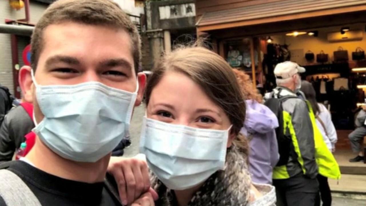 Newlyweds evacuated from honeymoon cruise amid coronavirus threat speak out from quarantine in Texas