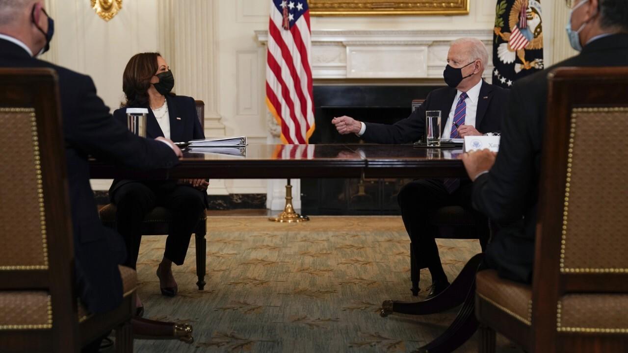 President Biden taps VP Harris to lead border crisis response
