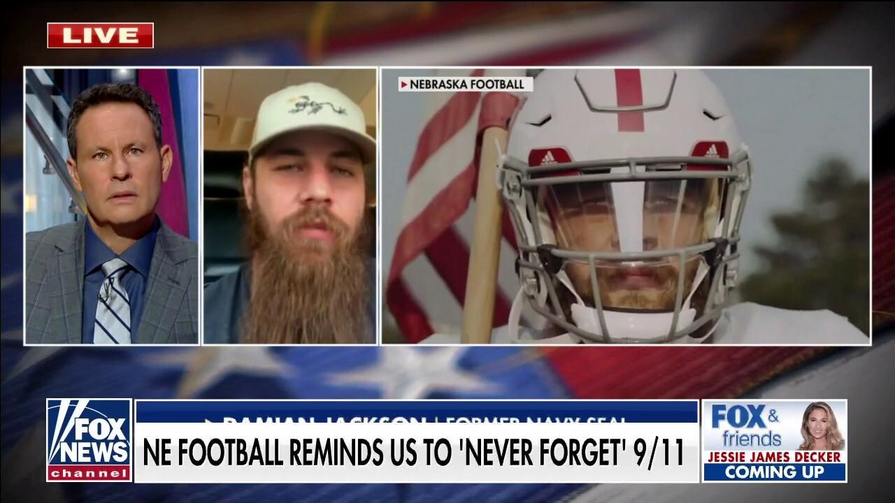 Former Navy SEAL walk-on linebacker on 'emotional' Nebraska football 9/11 tribute