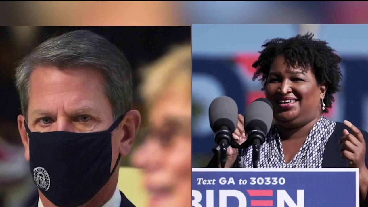 Georgia Senate runoffs tee up possible rematch between Kemp, Abrams