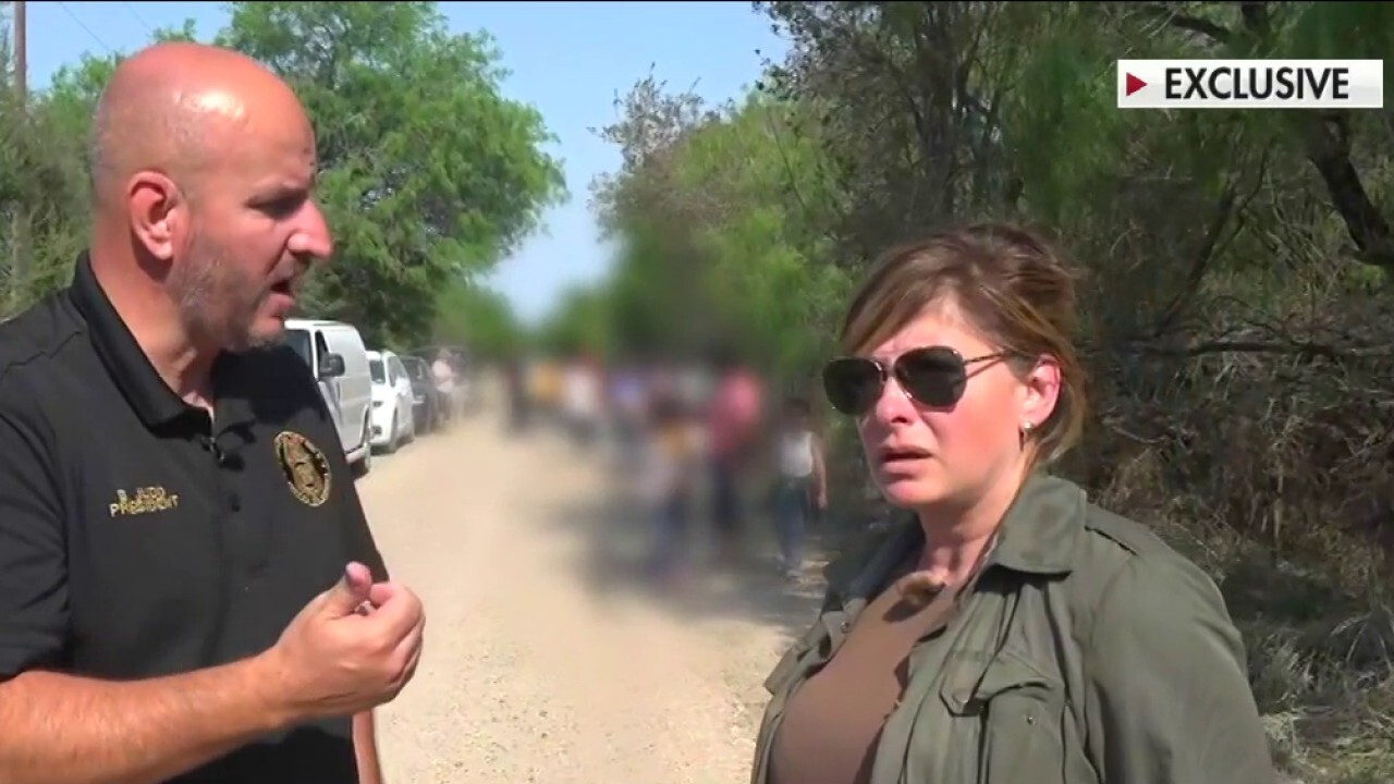 Exclusive: Maria Bartiromo visits border, learns issues facing 'catch and release' policy