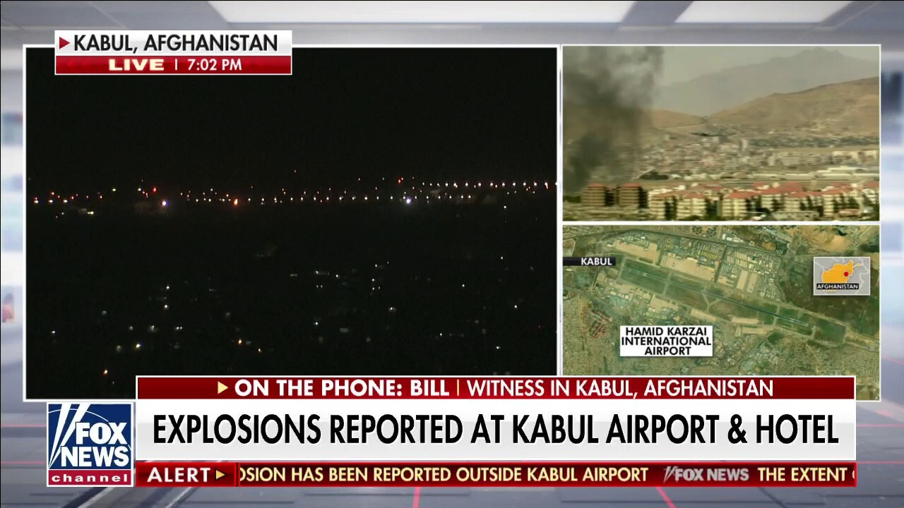 Witness describes Kabul explosion, suicide attack confirmed at Abbey Gate