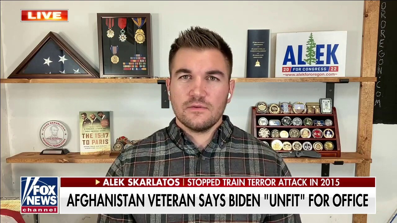 Biden should resign, 'unfit' for office, Afghanistan veteran says