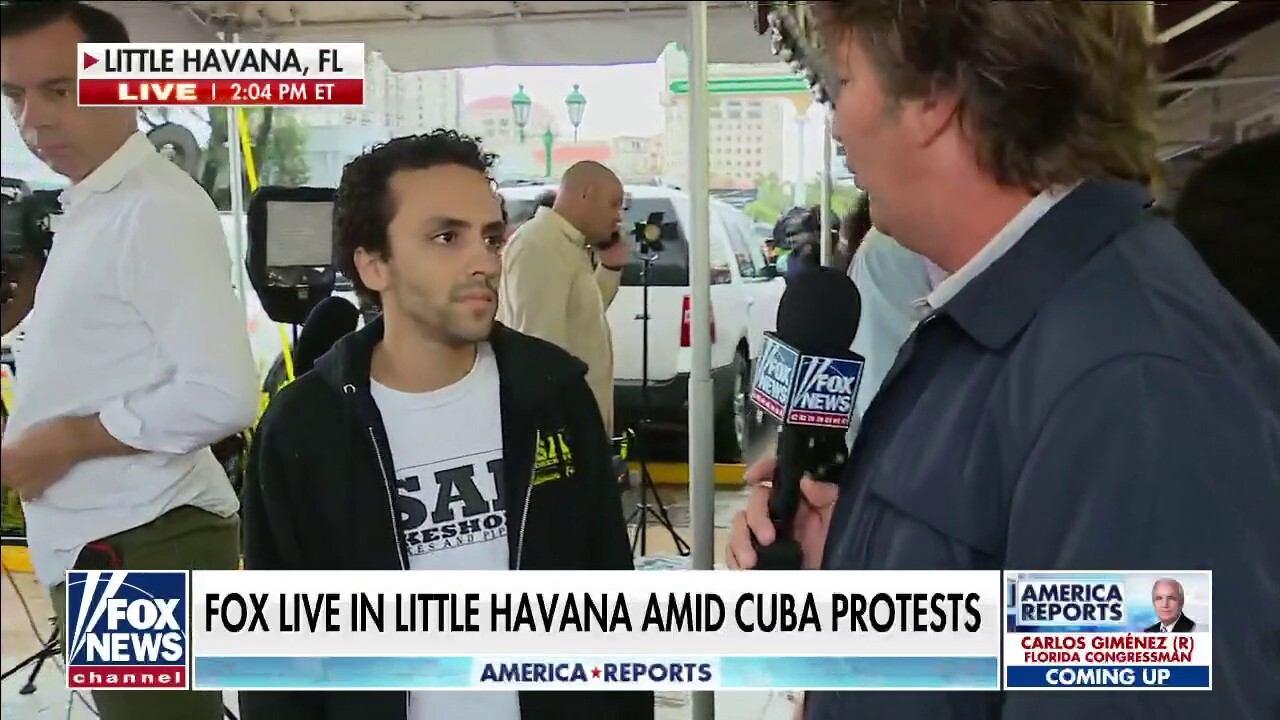 Cuban-American describes 'miserable' conditions in Cuba amid protests