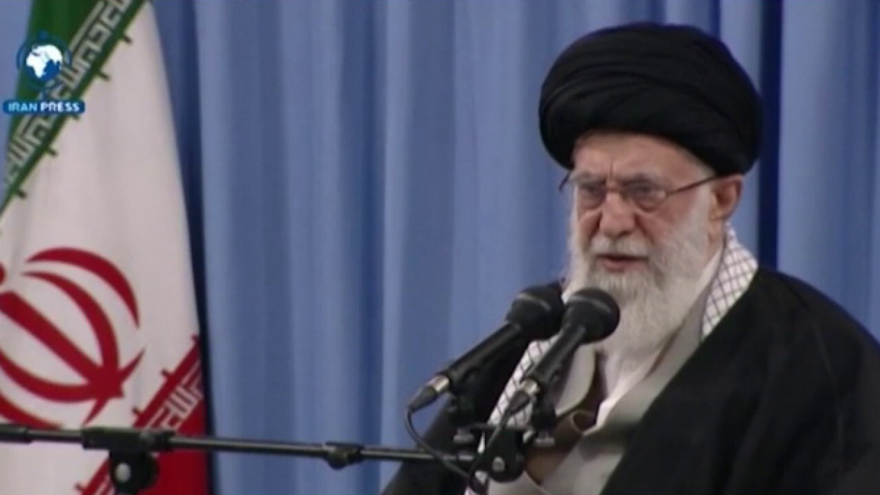 Westlake Legal Group image Iran's supreme leader calls for Israel's destruction in Twitter screed on anti-Israel holiday Tyler Olson fox-news/world/world-regions/middle-east fox-news/world/world-regions/israel fox-news/world/conflicts/iran fox-news/politics/foreign-policy/middle-east fox news fnc/world fnc article 275a3576-b9f8-5bdf-b3da-8e207d9834ac