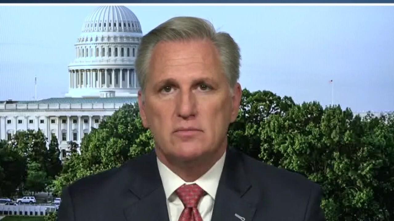 Rep. McCarthy demands Speaker Pelosi call back House amid Afghanistan crisis