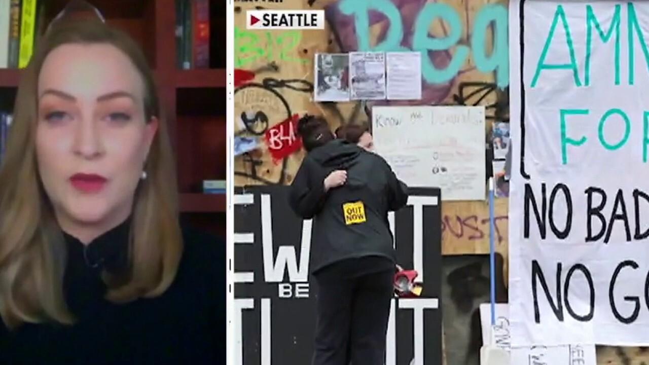 Seattle news reporter explains what happening inside the city's autonomous zone