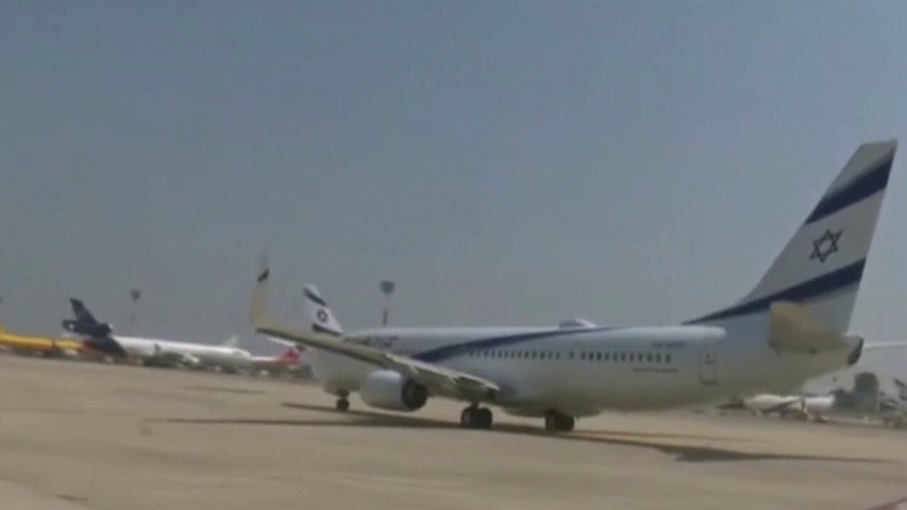 First direct commercial passenger flight from Israel to UAE lands in Abu Dhabi