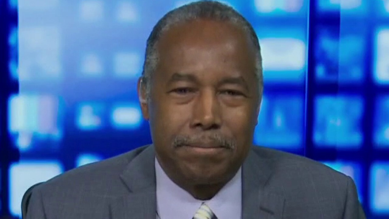Ben Carson: People can't control their race, can control their character
