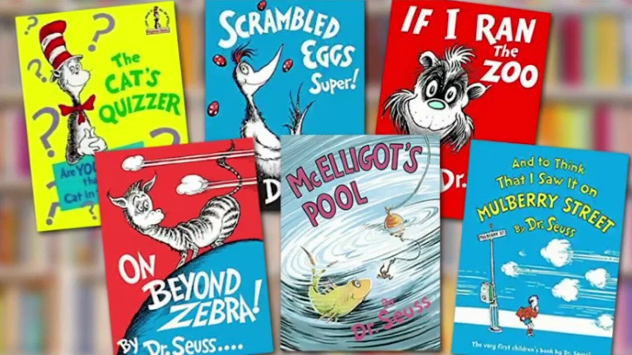 Dr. Seuss book sales soar after 6 titles canceled for 'racist' imagery