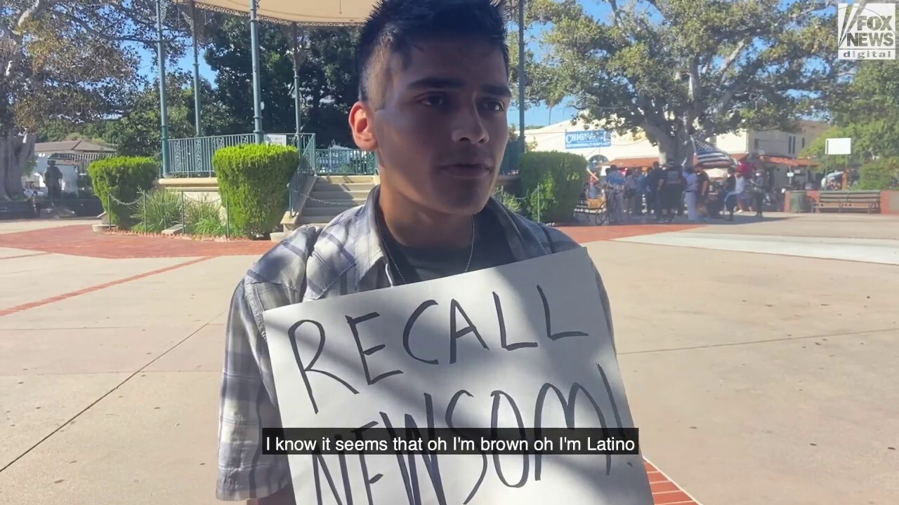 Why some Latinos are voting to recall Newsom