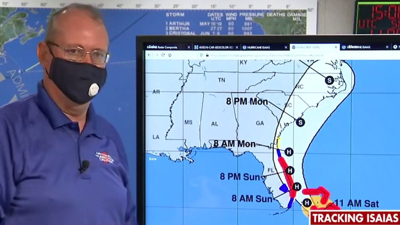 National Hurricane Center chief on threat posed by Hurricane Isaias