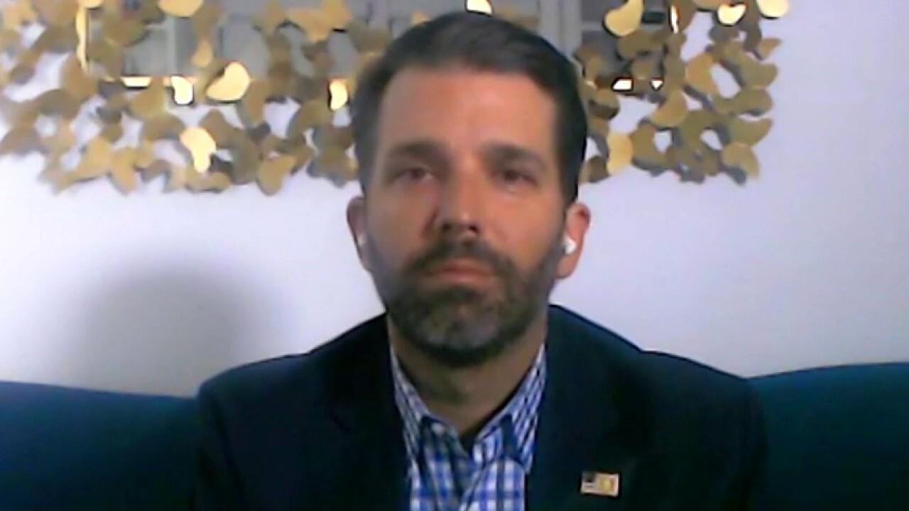 Donald Trump Jr. slams media's revisionist history of White House response to COVID-19