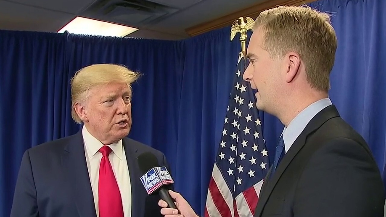 President Trump talks to Fox News about the latest on the coronavirus spread and Sen. Elizabeth Warren placing blame on the White House.