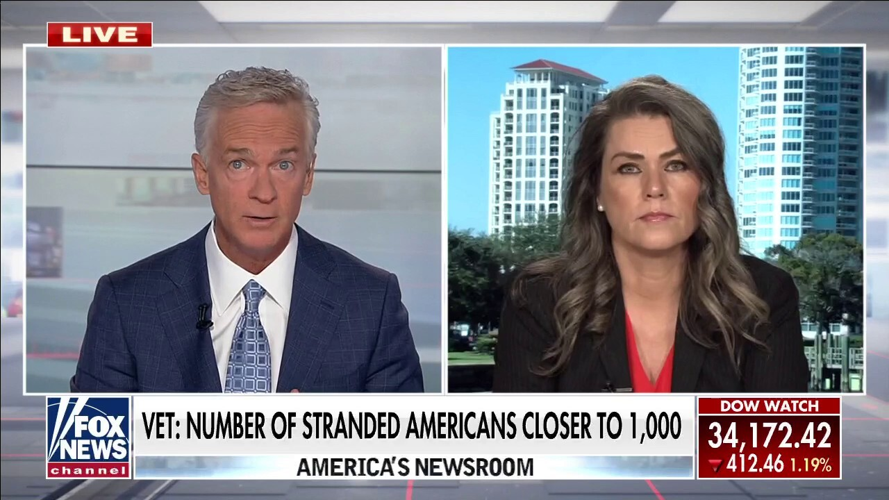 Former US military officer says close to 1,000 Americans still trapped in Afghanistan
