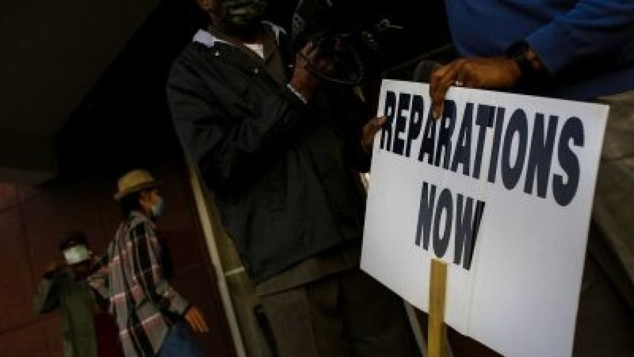 Reparations legislations advocates defer details to government commission