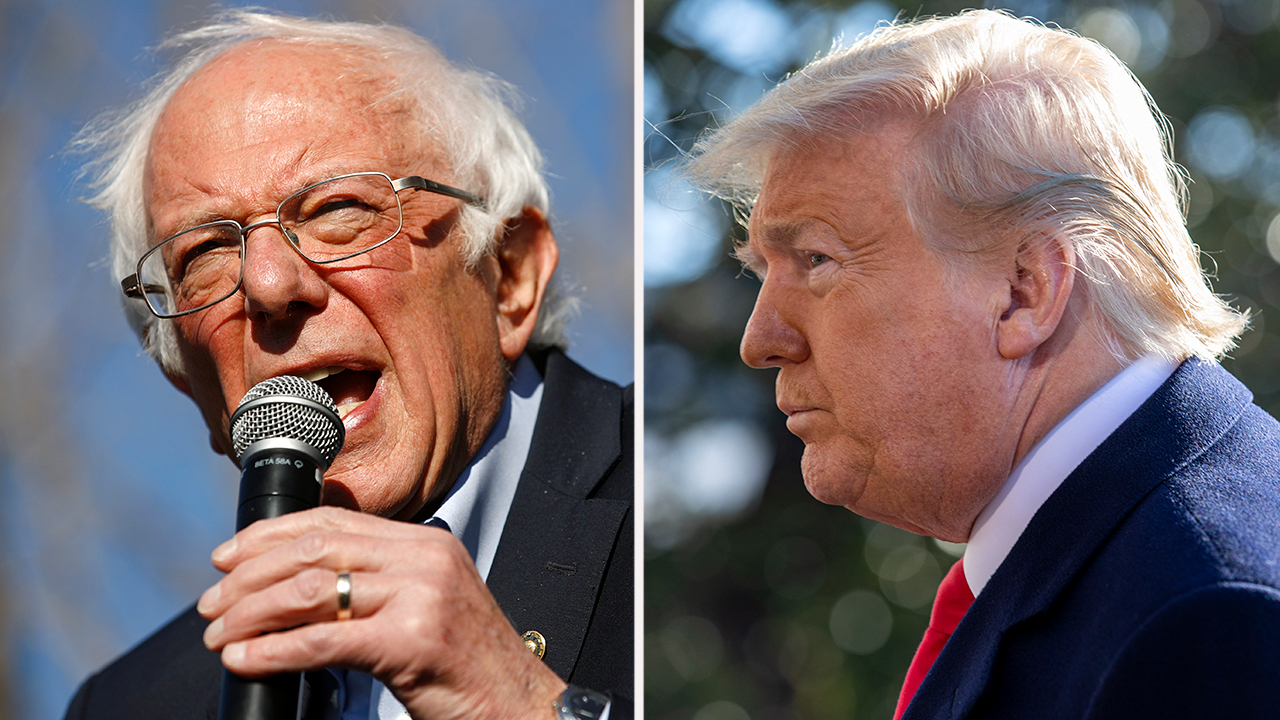 Trump heads to India as Sanders gets swept up in Russia collusion allegations