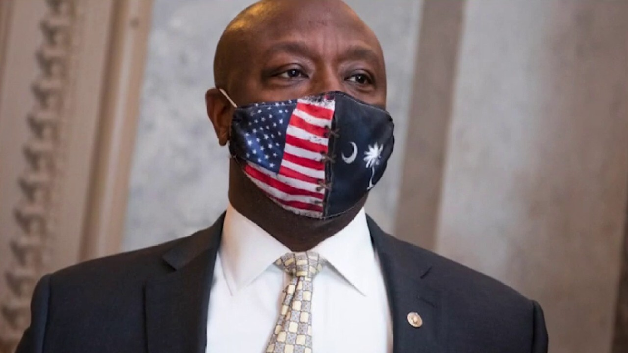 Media attacks Sen. Tim Scott's rebuttal speech, comments on race