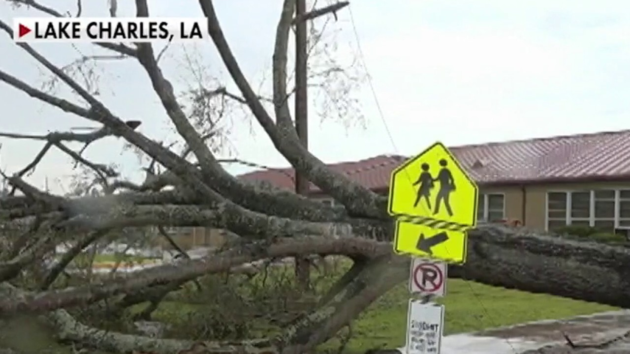 Cleanup begins after hurricane tears through Louisiana