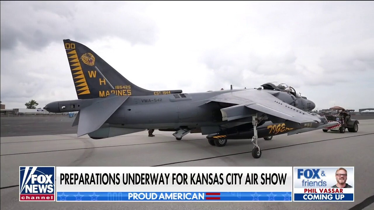 Behind the scenes of the Kansas City Air Show   On Air ...