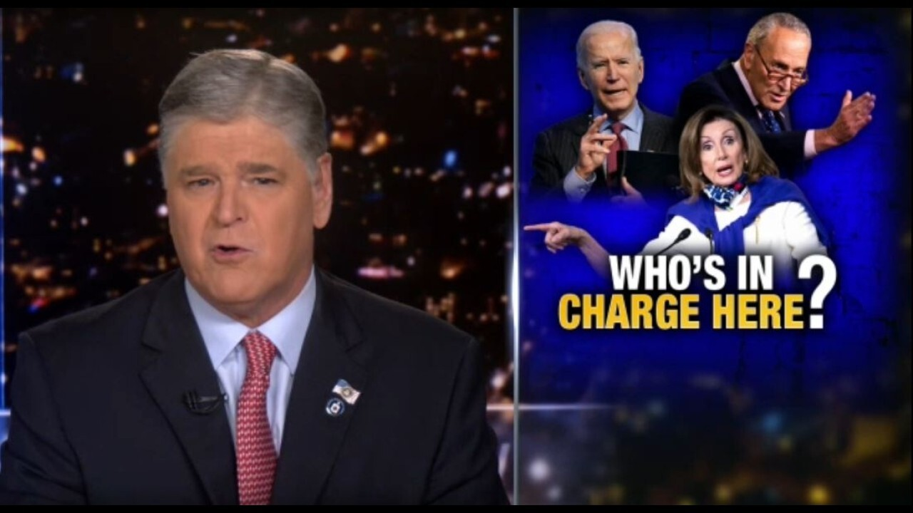 Hannity questions 'who's really in charge' following Biden's address
