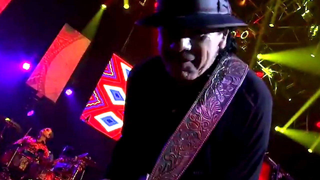 Carlos Santana on touring again and his new music