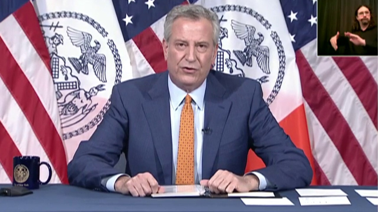 De Blasio promises 'independent review' after anti-cop riots in New York City - fox