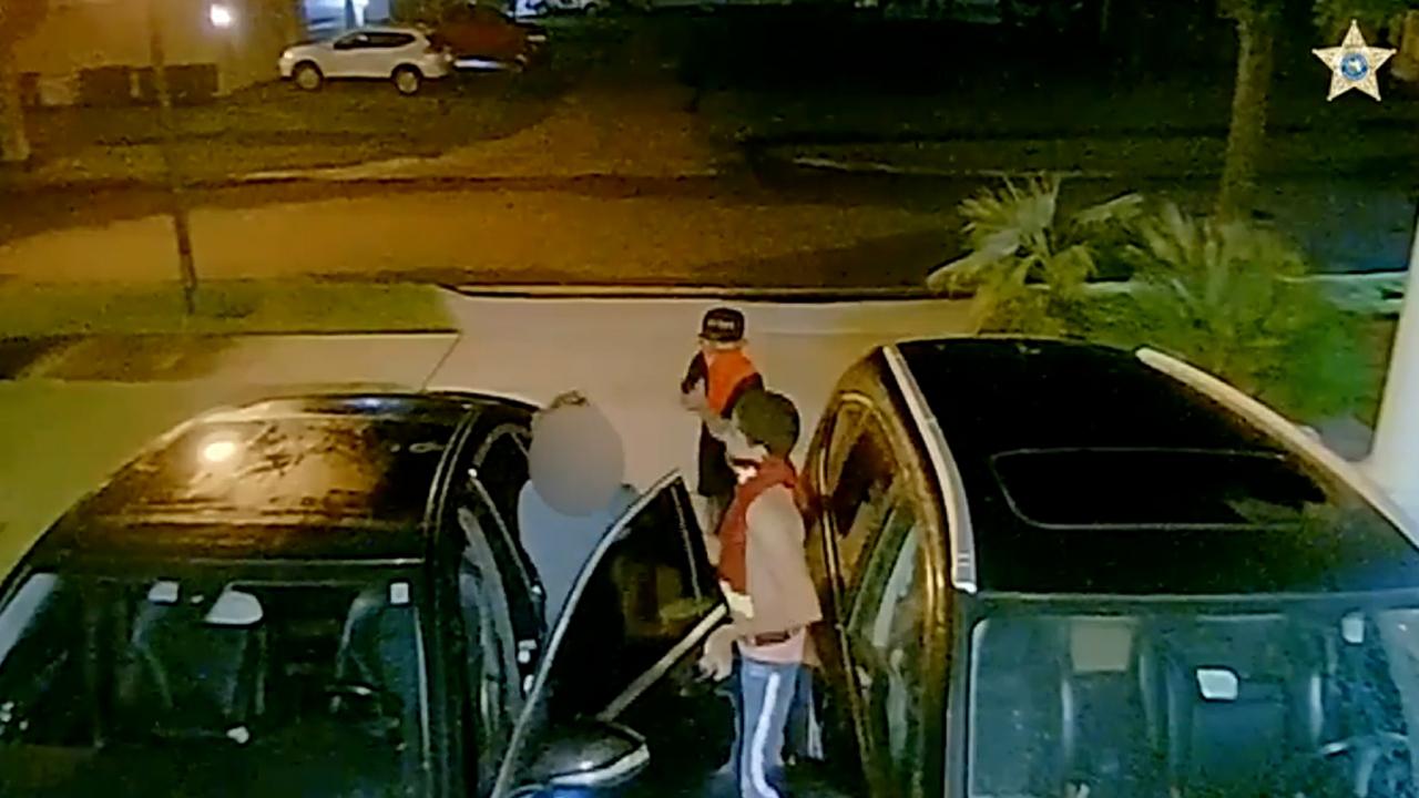 Warning, graphic video: Florida carjacking caught on security camera