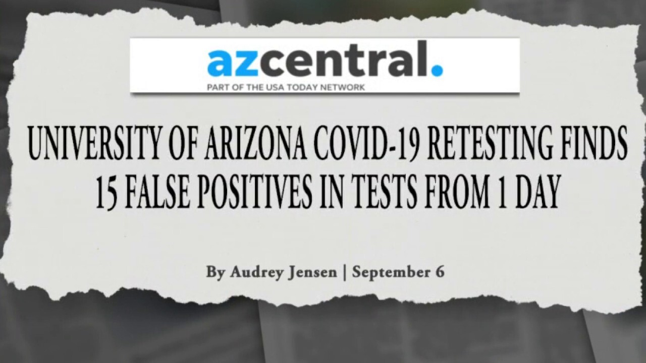 Are 'false positives' inflating COVID spikes at colleges, universities?