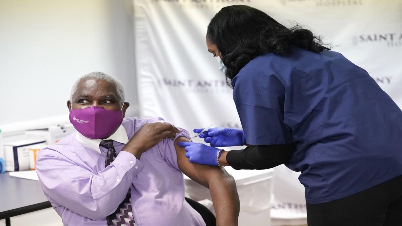 Texas distributing coronavirus vaccine to most vulnerable first