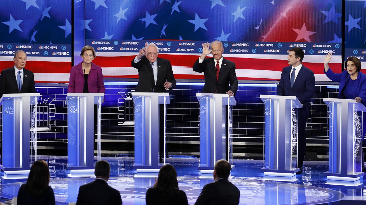 Westlake Legal Group image Mary Anne Marsh: In fierce Democratic presidential debate, one winner and five losers Mary Anne Marsh fox-news/politics/elections/presidential-debate fox-news/politics/elections/democrats fox-news/politics/elections fox-news/politics/2020-presidential-election fox-news/person/pete-buttigieg fox-news/person/michael-bloomberg fox-news/person/joe-biden fox-news/person/elizabeth-warren fox-news/person/bernie-sanders fox-news/person/amy-klobuchar fox-news/opinion fox news fnc/opinion fnc article 4fc39ca6-b340-53f7-b910-c51a3ebd4694