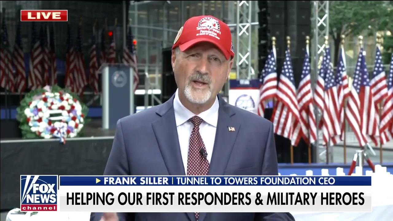 Tunnel to Towers CEO Frank Siller honors lives lost to 9/11 related illnesses