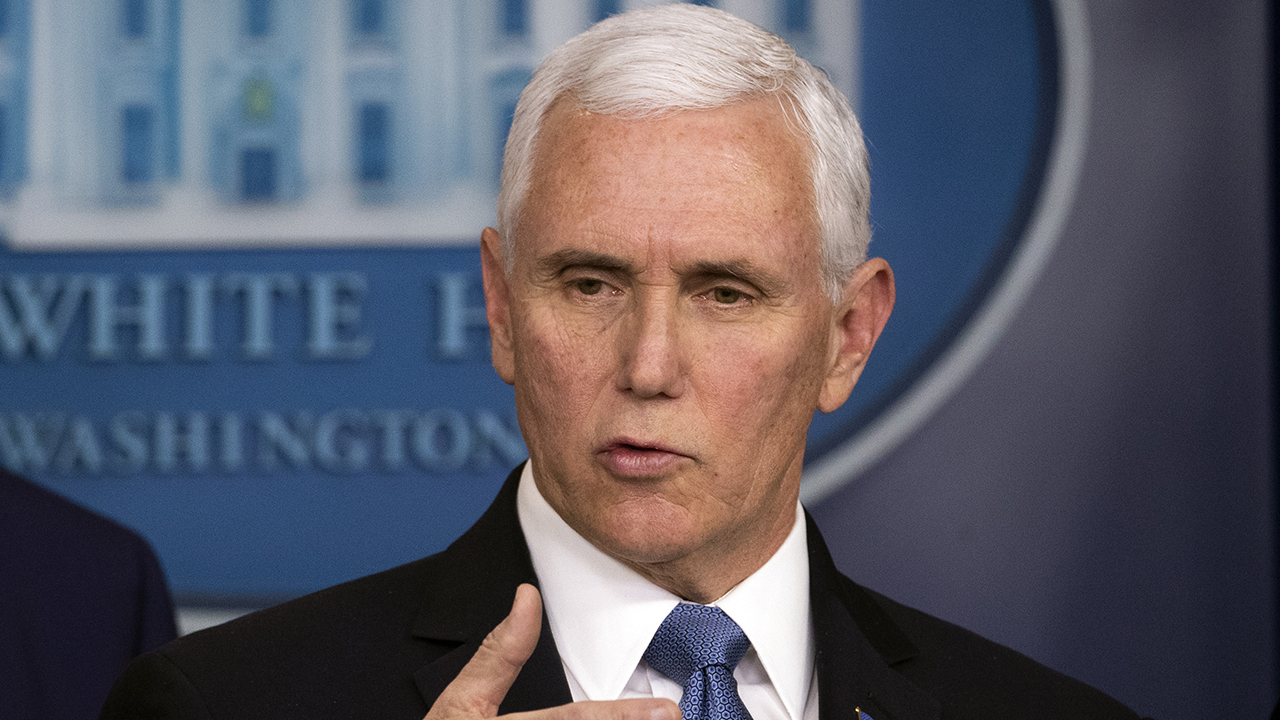Vice President Pence provides update on Trump administration's response to coronavirus