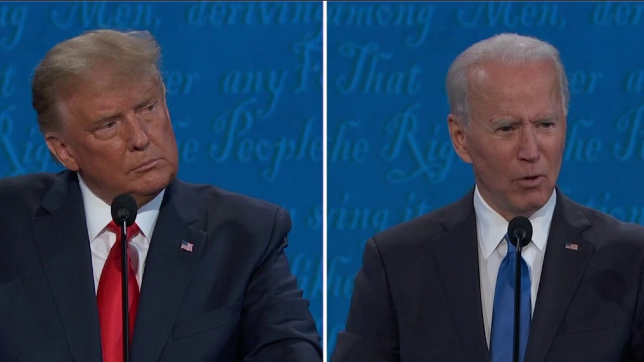 Trump, Biden spar over veracity of Hunter Biden's laptop, emails