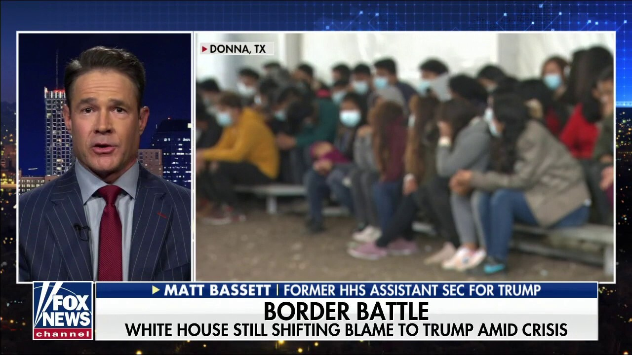 Former Trump HHS official warns of societal cost of Biden's border crisis