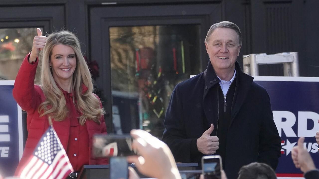 Perdue, Loeffler rally in Georgia ahead of Senate runoffs