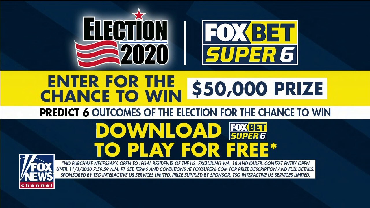 Jesse Watters has the latest FOX Bet Super 6 contest on 'The Five'.