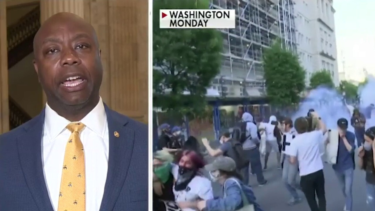 Sen. Scott's message to governors: You want to help African Americans? Establish order
