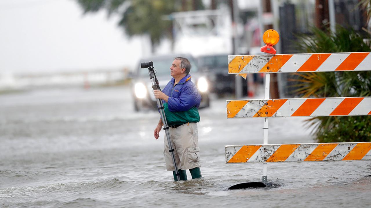 Tropical Storm Cristobal close to making landfall on Louisiana Coast