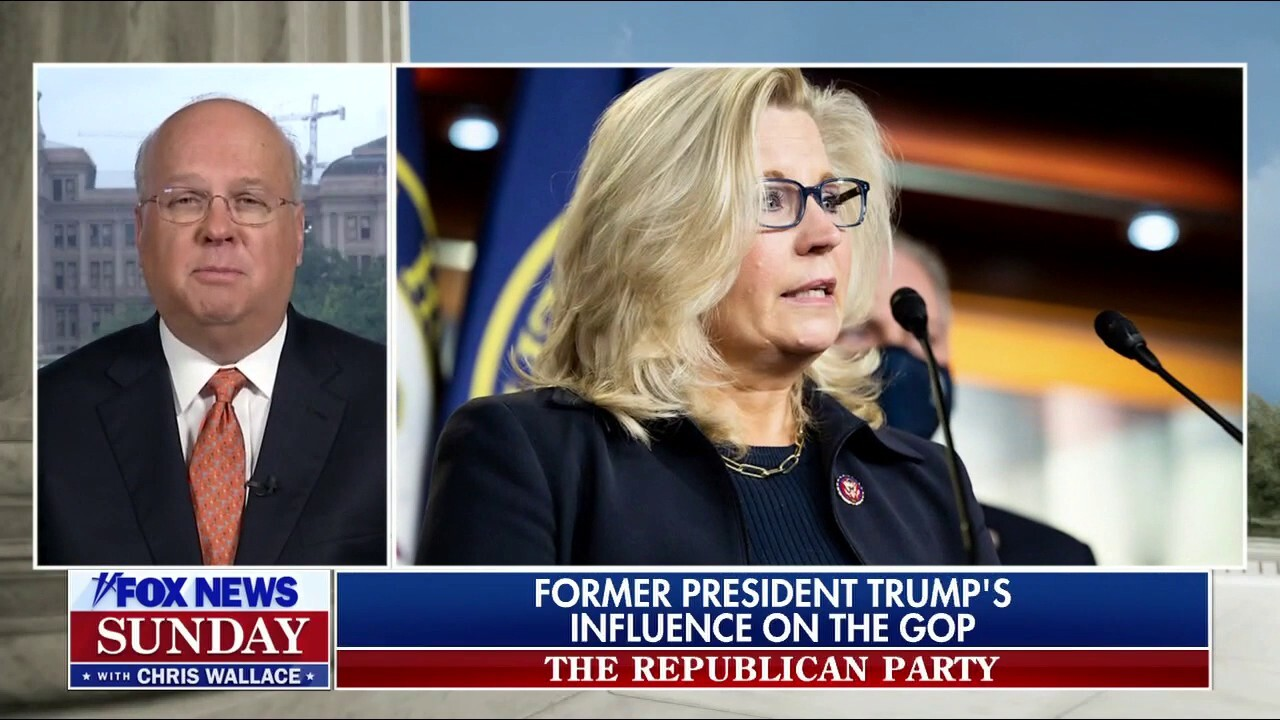 Rep. Liz Cheney 'most likely' will lose, be removed from job: Karl Rove